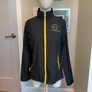 Nike Livestrong windbreaker jacket